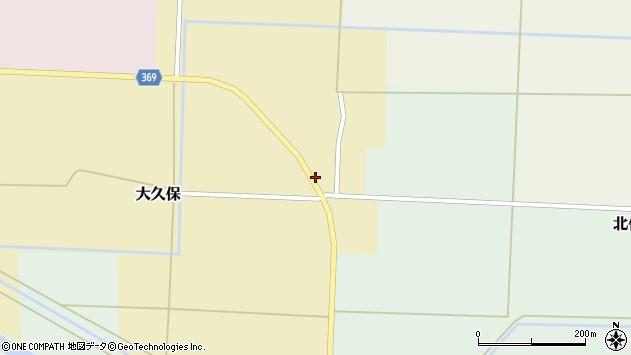 山形県酒田市大久保村東8周辺の地図