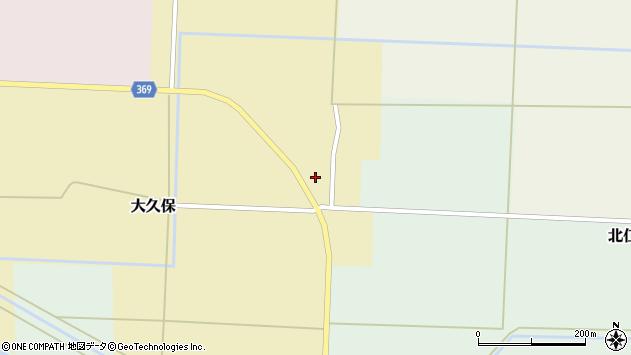 山形県酒田市大久保村東9周辺の地図