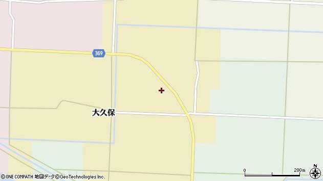 山形県酒田市大久保村東85周辺の地図