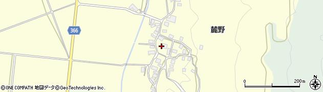 山形県酒田市麓麓野周辺の地図