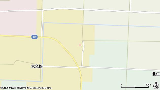 山形県酒田市大久保村東28周辺の地図