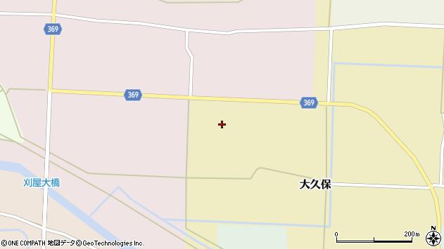 山形県酒田市塚渕舘ノ内4周辺の地図