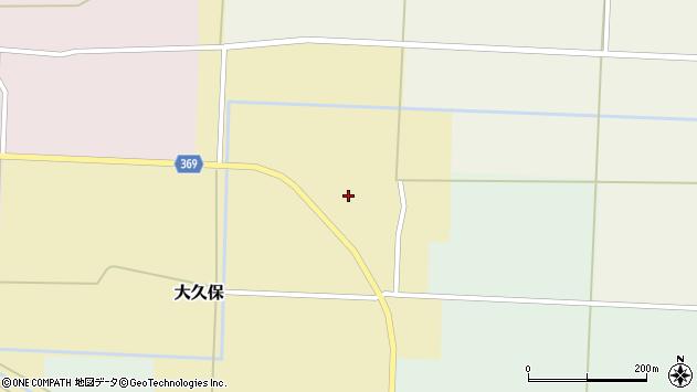 山形県酒田市大久保村東23周辺の地図