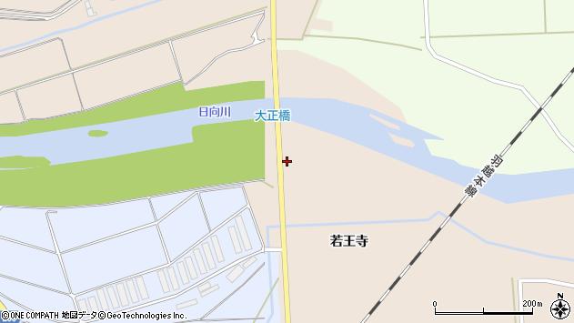 山形県酒田市刈屋下川原周辺の地図
