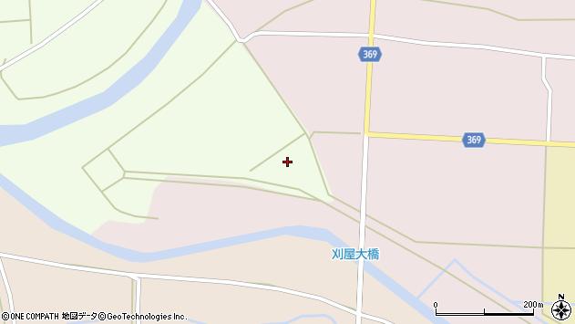 山形県酒田市塚渕西又周辺の地図