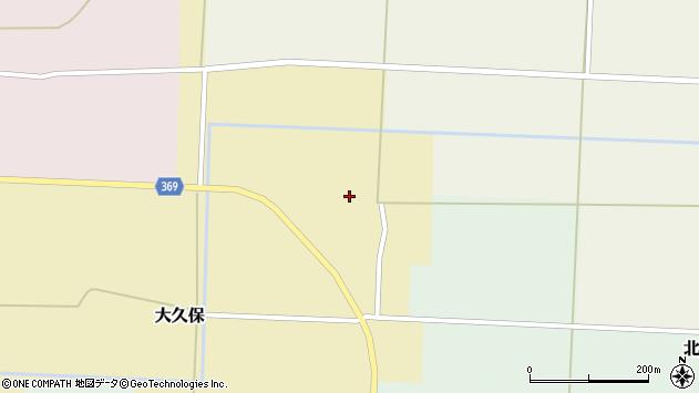 山形県酒田市大久保村東25周辺の地図