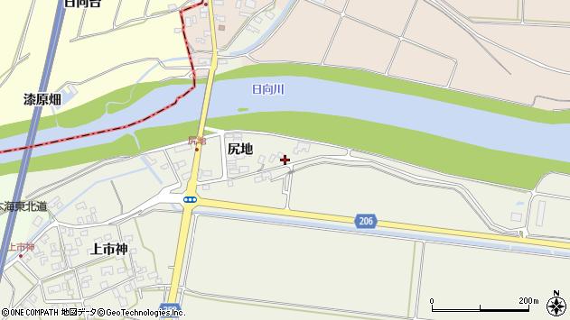 山形県酒田市穂積尻地56周辺の地図