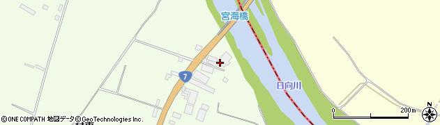 山形県酒田市宮海村東10周辺の地図