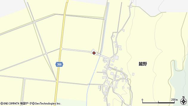 山形県酒田市麓天神堂周辺の地図
