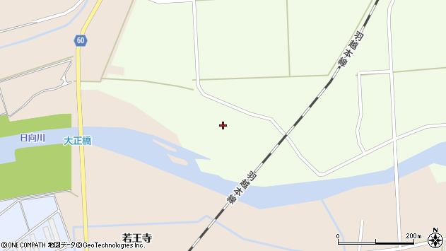 山形県酒田市米島下川原周辺の地図