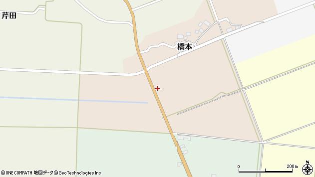 山形県酒田市橋本道下6周辺の地図