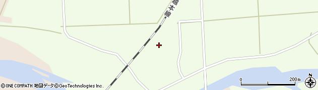 山形県酒田市米島宮の前24周辺の地図