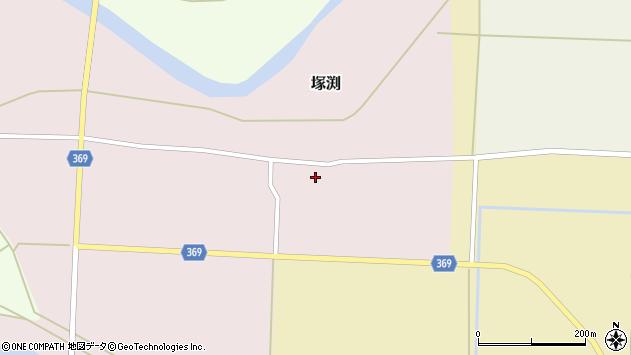 山形県酒田市塚渕舘ノ内16周辺の地図
