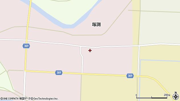 山形県酒田市塚渕舘ノ内23周辺の地図