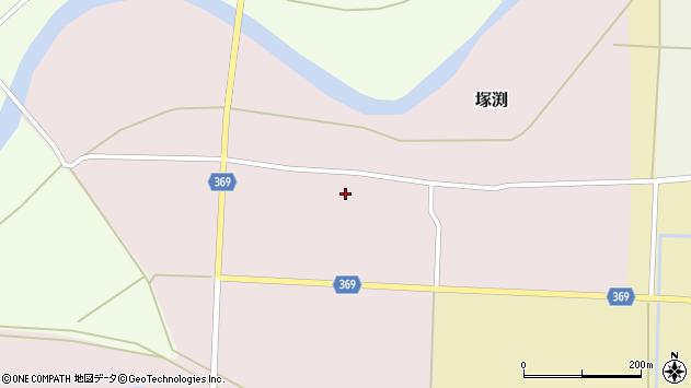 山形県酒田市塚渕舘ノ内104周辺の地図