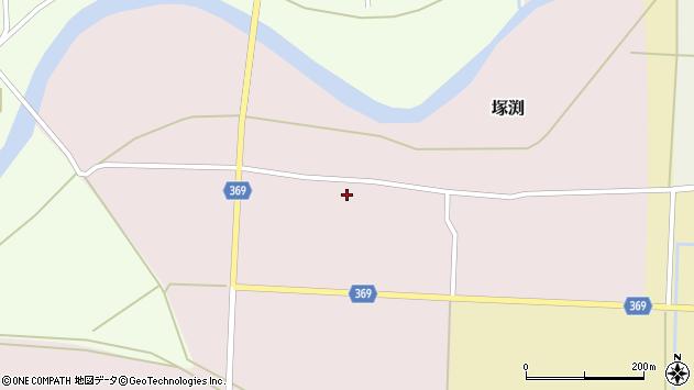 山形県酒田市塚渕舘ノ内105周辺の地図