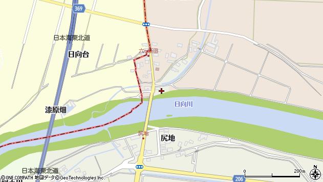山形県酒田市穂積元屋敷94周辺の地図