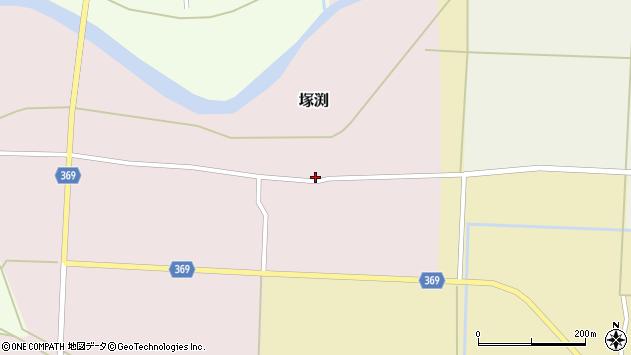 山形県酒田市塚渕清瀬25周辺の地図