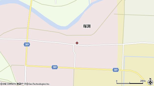 山形県酒田市塚渕清瀬20周辺の地図