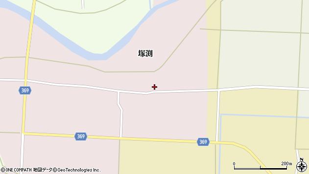 山形県酒田市塚渕広瀬99周辺の地図