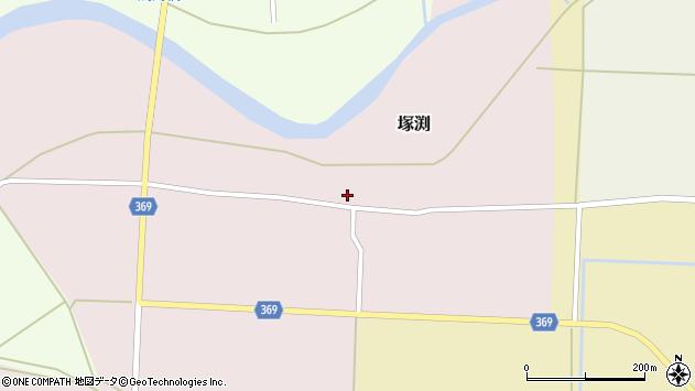 山形県酒田市塚渕清瀬19周辺の地図