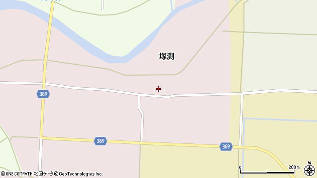 山形県酒田市塚渕清瀬23周辺の地図