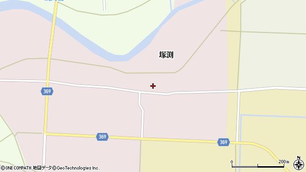 山形県酒田市塚渕清瀬21周辺の地図
