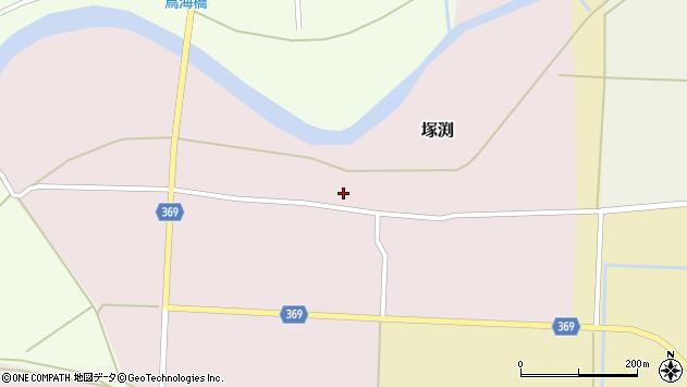 山形県酒田市塚渕清瀬16周辺の地図