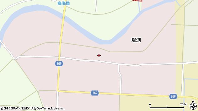 山形県酒田市塚渕清瀬15周辺の地図
