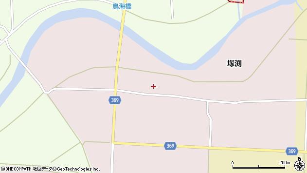 山形県酒田市塚渕清瀬4周辺の地図