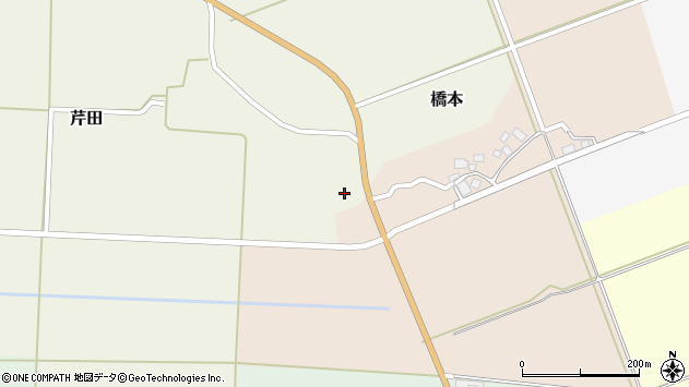 山形県酒田市芹田家ノ下26周辺の地図