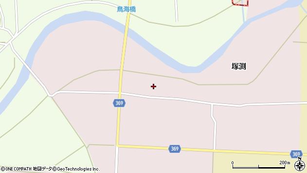 山形県酒田市塚渕清瀬3周辺の地図
