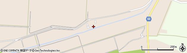 山形県酒田市宮内三丁目周辺の地図
