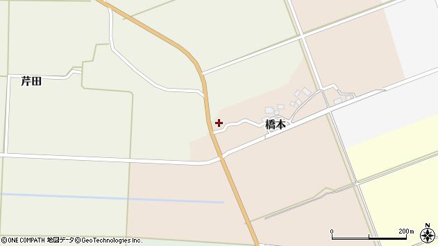 山形県酒田市橋本出シ祢13周辺の地図