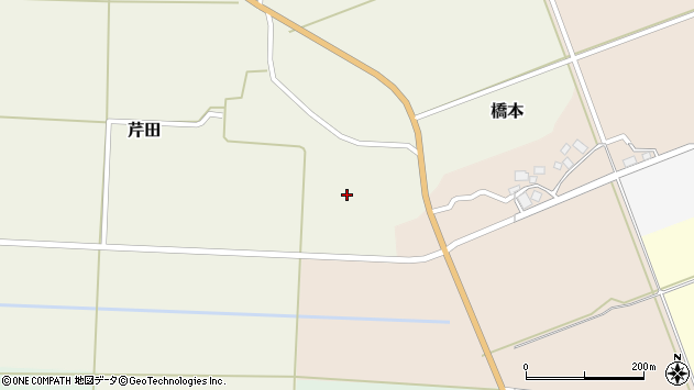 山形県酒田市芹田家ノ下37周辺の地図