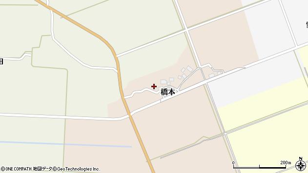 山形県酒田市橋本出シ祢8周辺の地図