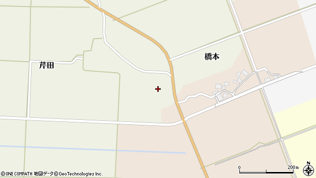 山形県酒田市芹田家ノ下21周辺の地図