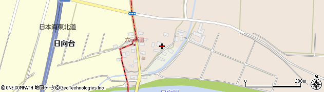 山形県酒田市宮内六ツ新田7周辺の地図