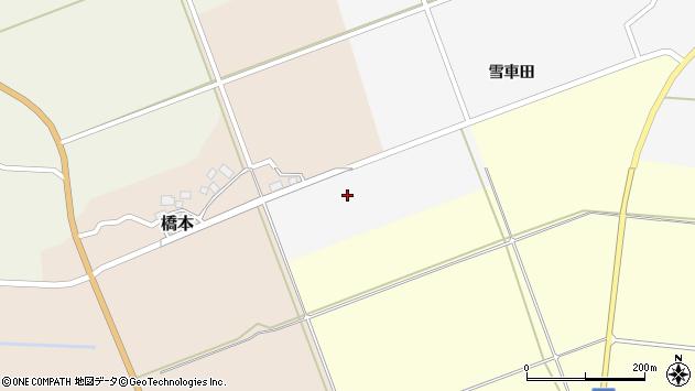 山形県酒田市福山沖野周辺の地図