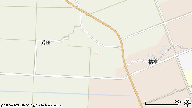 山形県酒田市芹田前田3周辺の地図