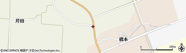 山形県酒田市芹田前川原42周辺の地図