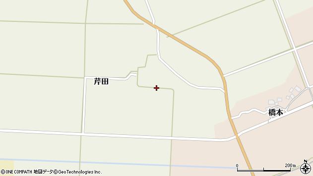 山形県酒田市芹田前田44周辺の地図