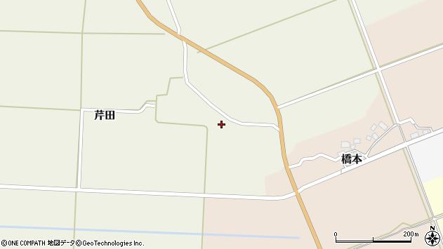 山形県酒田市芹田前田1周辺の地図