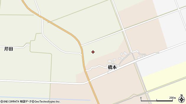 山形県酒田市芹田前川原周辺の地図