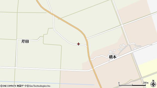 山形県酒田市芹田家ノ下7周辺の地図