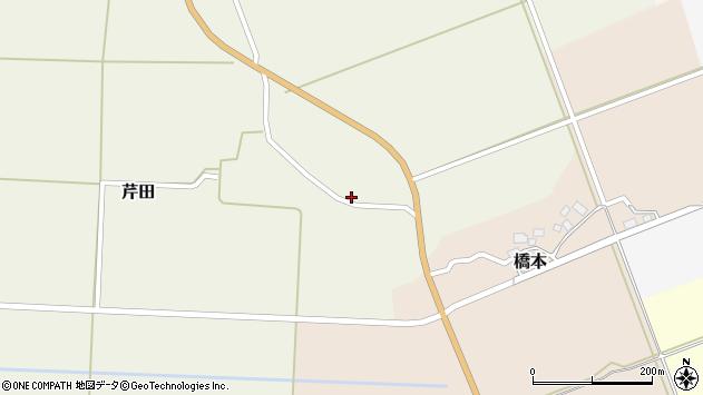 山形県酒田市芹田家ノ下5周辺の地図