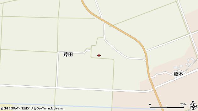 山形県酒田市芹田前田55周辺の地図
