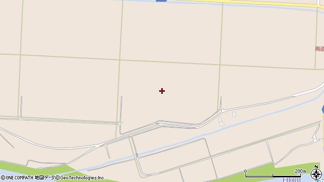 山形県酒田市宮内梵天木周辺の地図