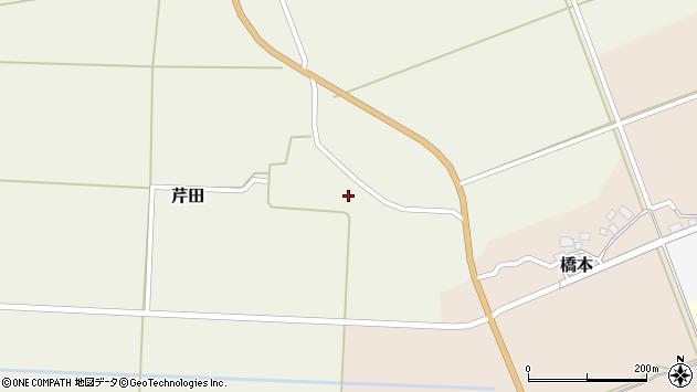 山形県酒田市芹田前田32周辺の地図