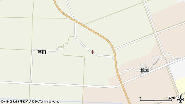 山形県酒田市芹田北田34周辺の地図